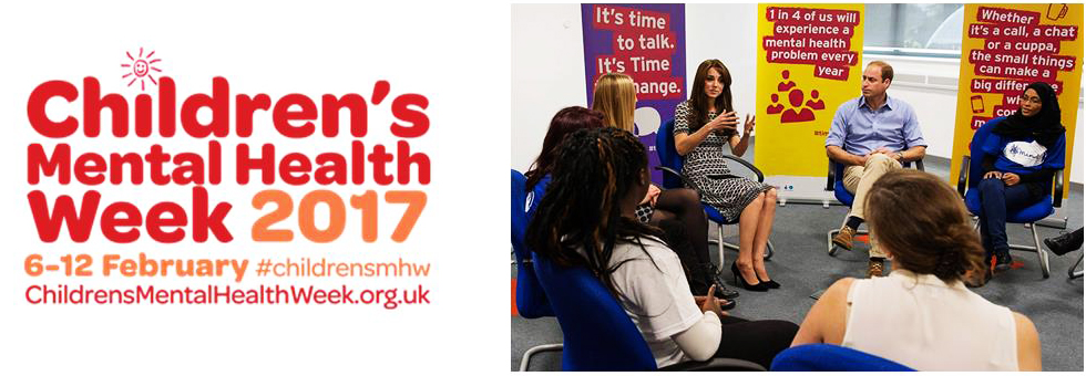 Children's Mental Health Week Duke Duchess Cambridge