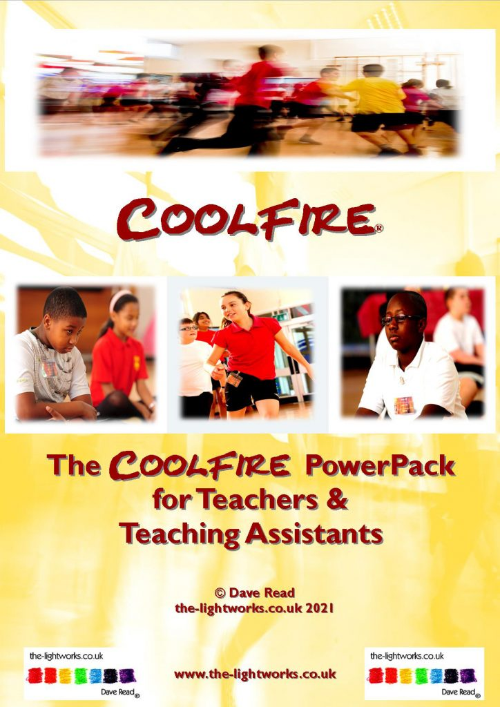 The CoolFire teachers classroom PowerPack - 200 pages of information and mix and match CoolFire routines and exercises